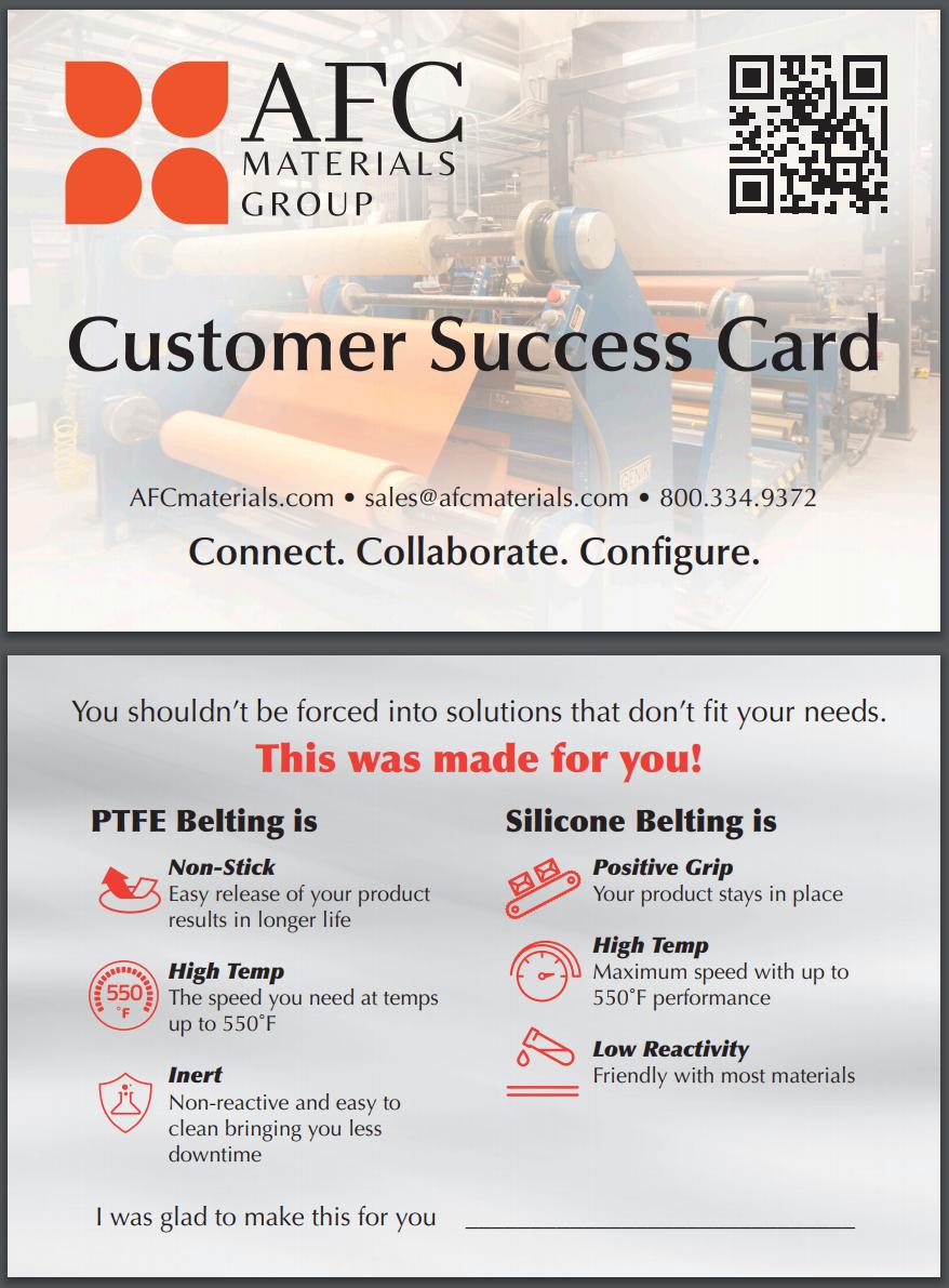 Customer Success Card